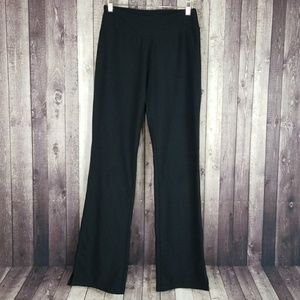 Lucy black XS Tall pull-on workout pants